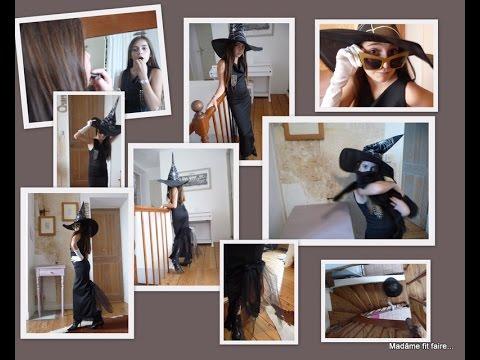 Tutoriel : comment coudre une robe de sorcière maléfique pour halloween