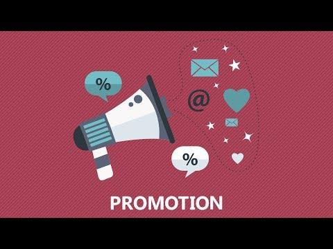 The Marketing Mix - Marketing Promotion