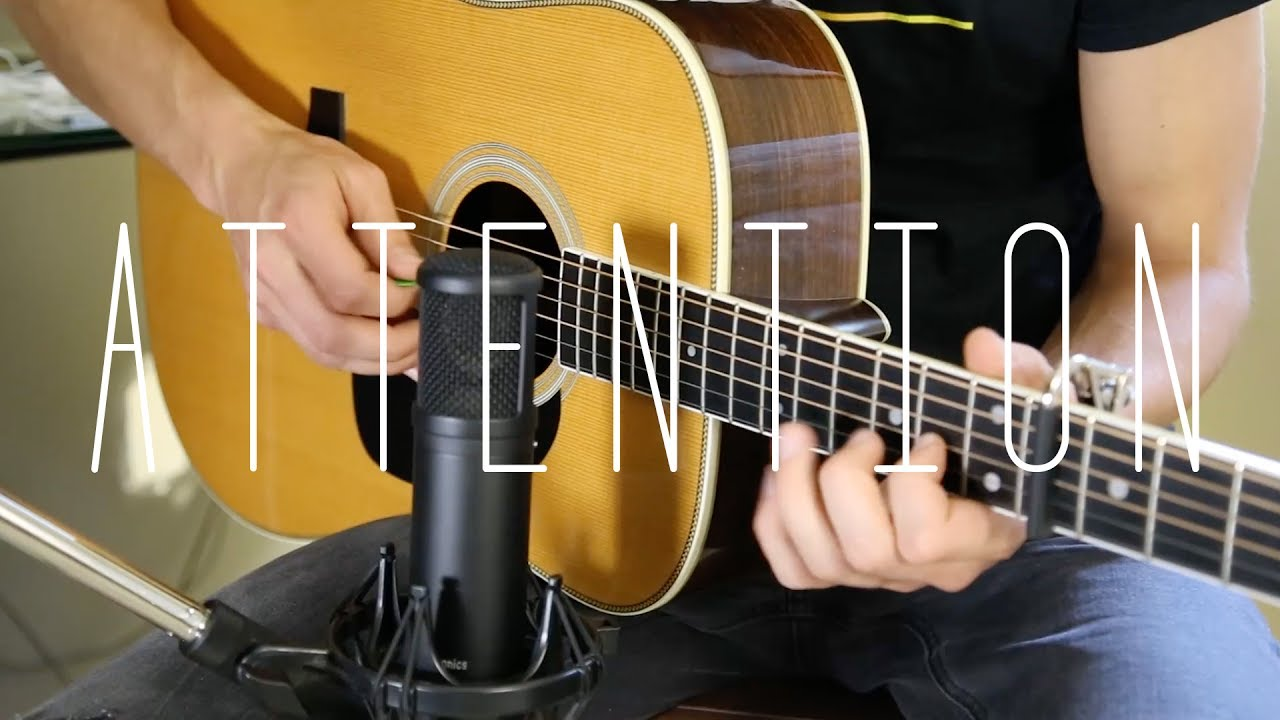 Attention – Charlie Puth –  Acoustic Guitar Cover