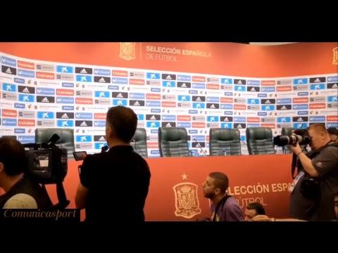 Rueda de prensa de Lopetegui tras su despido de la sellecion española