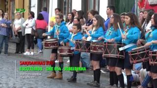 Sanjoaninas 2017 - Desfile de Charangas -  Escuteiros -  CNE 624 -  Ribeirinha  - 28 de Junho 2017