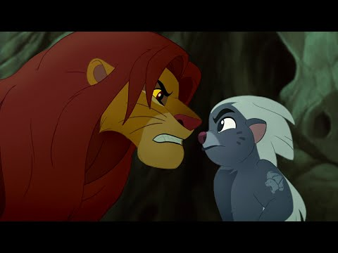 Lion Guard: Simba & Bunga Argue! + Hakuna Matata Duet | Bunga and the King HD Clip