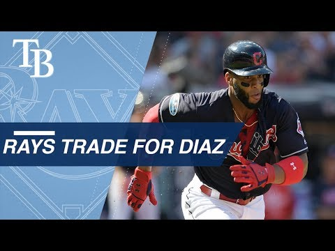 Video: Yandy Diaz gets traded to the Rays from the Indians