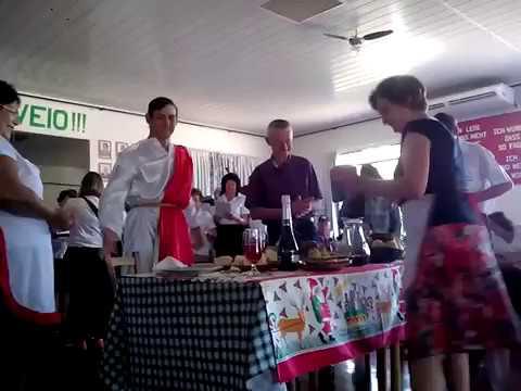 Um jantar para Jesus - encenação Entre Rios do Oeste
