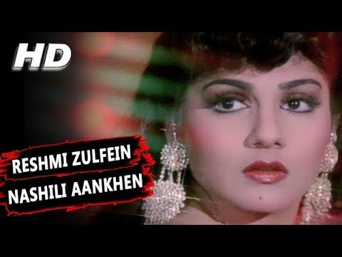 Reshmi Zulfein Nashili Aankhen   Abhijeet Bhattacharya   Indrajeet 1991 Songs   Amitabh Bachchan