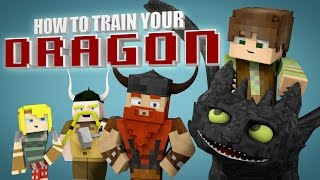 Video Minecraft Parody - HOW TO TRAIN YOUR DRAGON! - (Minecraft Animation) MP3, 3GP, MP4, WEBM, AVI, FLV Juli 2018