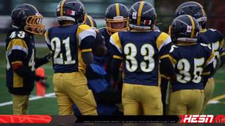NCAFA 2K16 - TYKE - C Cup Semi - Final Warriors VS Cumberland Panthers