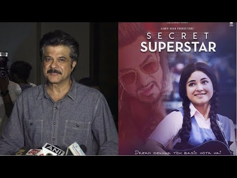 Anil Kapoor  At Special Screening Of Film Secret Superstar