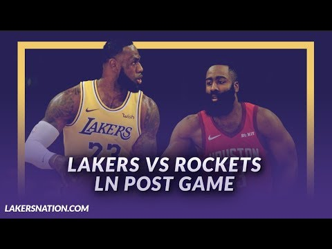 Video: Lakers Discussion: Lakers Beat the Rockets, 19 point comeback, LeBron & Ingram Score 56 Total Points