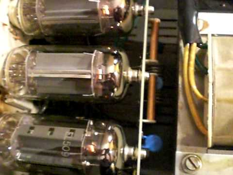 ZETAGI  BV-603, 27 Mhz - TUBE RF AMPLIFIER REPAIR - POWER TEST.