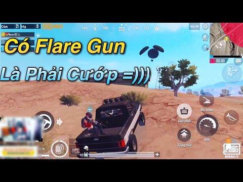 PUBG Mobile   Đi Cướp Flare Gun Lại Gặp Fan - Đồng Đội Nói Chuyện Cùng Người Chết ...
