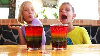 Video How to make RAINBOW SODA | COOL science EXPERIMENT with Sugar MP3, 3GP, MP4, WEBM, AVI, FLV Januari 2019