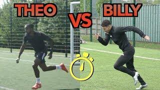 Video THEO WALCOTT VS BILLY WINGROVE | EPIC SPRINT RACE MP3, 3GP, MP4, WEBM, AVI, FLV Agustus 2018