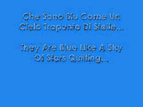 , title : 'Emma Marrone - Nel Blu Dipinto Di Blu - (Testo in Italiano e Traduzione in Inglese)'