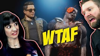 Mortal Kombat 11 | Reacting to NetherRealm's FAVORITE FATALITIES with NEW stuff from JOHNNY CAGE 🤣