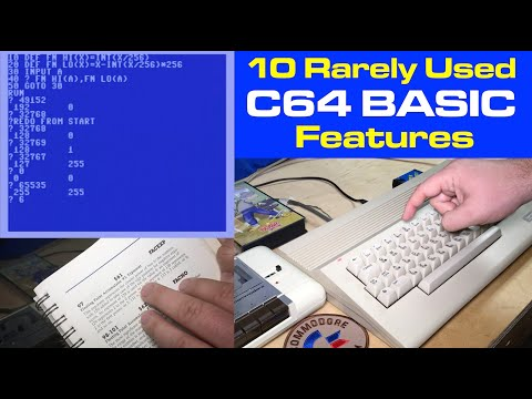 10 Rarely Used Commodore 64 BASIC Features