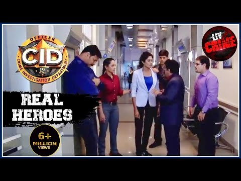 Abhijeet's Life At Stake | C.I.D | सीआईडी | Real Heroes