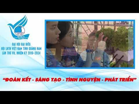 Giới thiệu Đại hội Đại biểu Hội LHTN Việt Nam tỉnh Quảng Nam lần thứ VII, nhiệm kỳ 2019-2024
