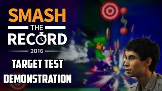 Video STR2016 SSBM - Nintendude Target Test Demonstration - Smash Melee MP3, 3GP, MP4, WEBM, AVI, FLV Februari 2018
