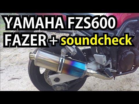 Yamaha FZS600 Fazer 2003 + Delkevic exhaust