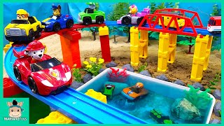 Video Toys assembly videos for kids | Build swimming pool for Pinkfong Shark family | MariAndToys MP3, 3GP, MP4, WEBM, AVI, FLV Januari 2019