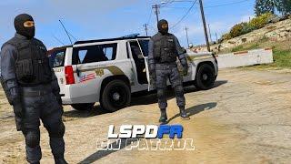 LSPDFR - Day 85 - 2015 SWAT Suburban