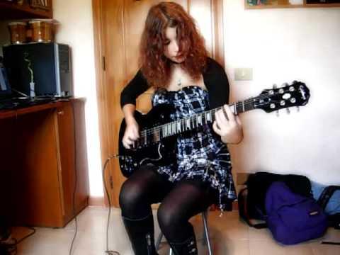 Rammstein - Sonne ~ Guitar Cover by Federica Putti