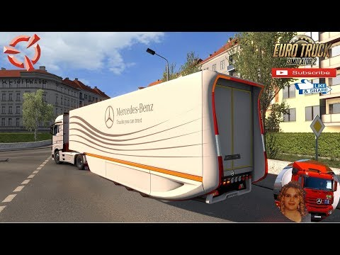 Mercedes Benz AeroDynamic Trailer Concept v1.1