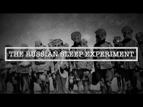 The Russian Sleep Experiment | The Most Terrifying Human Experiment Ever Performed? (видео)
