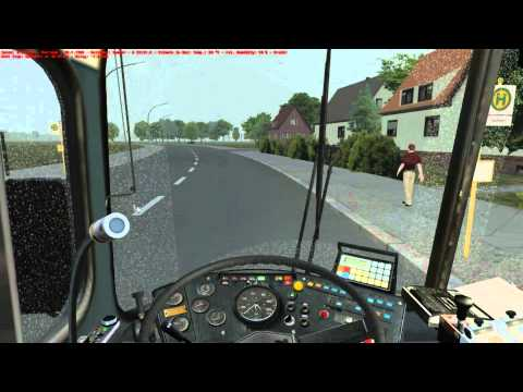 Omsi bus simulator  MAN SD200-SD84