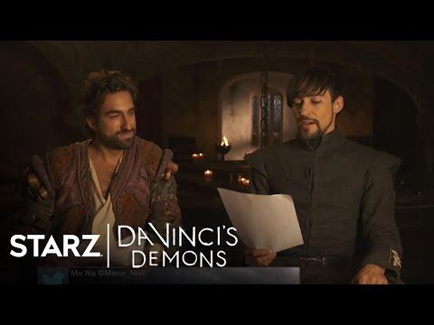 Da Vinci's Demons | Fan Tweets with Greg Chillin and Blake Ritson | STARZ