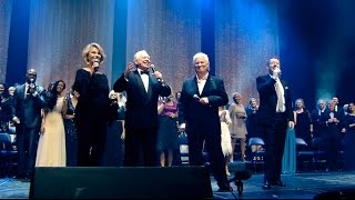"""Recorded live, """"I Just Feel Like Something Good Is About To Happen Medley"""" is from our 45th Anniversary Reunion Concert on July, 2016, featuring classic favorites.With over 3 hours of memorable music, a bonus section featuring a special tribute to Max and Lucy, plus behind-the-scenes footage, we are very excited about the release of our 45th Anniversary Reunion Concert! We've captured that unprecedented and unforgettable night of music, praise and celebration on Blu-ray, DVD and 3-Set CDs.Relive that awe-inspiring evening with over 130 Heritage Singers on stage!The 45th Reunion Concert CD (music only) features 37 songs - including 6 medleys.The Blu-ray DVD, and the regular DVD are the best we've produced! Call us: (530) 622-9369 or visit our web store: http://heritagesingers.com/store. Our office hours are Monday -Thursday, 8:30 AM - 5 PM (PST)."""