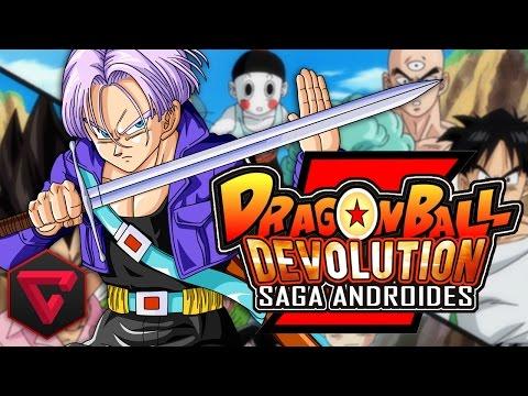 dragon - Holaa, hoy como cada miércoles, vamos a continuar con la increíble historia y combates de Dragon Ball Z Devolution, empezamos la saga de Cell, con la llegada de los androides y Trunks, ¡¿listos...