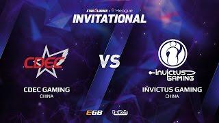 CDEC Gaming vs Invictus Gaming, Game 1, SL i-League Invitational S2, CN Qualifier