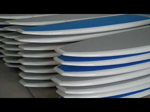 SUP ATX Factory Tour - How Stand Up Paddle Boards Are Made