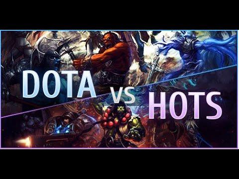 Dota 2 - Dota 2 Reborn ��������� � Heroes of the storm