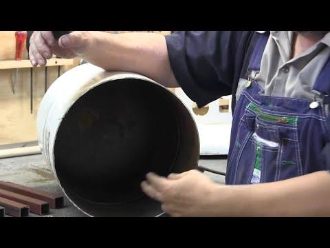 propane tank rocket stove 1/3