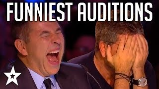 Video TOP 10 FUNNIEST Auditions And Moments EVER On Britain's Got Talent! | Got Talent Global MP3, 3GP, MP4, WEBM, AVI, FLV Agustus 2019