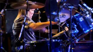 Nicko McBrain of Iron Maiden performing [part 2] at Guitar Center's 20th Annual Drum Off Finals on January 8, 2009 at The Music ...