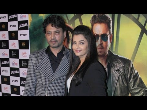 No One Apart From Irrfan Suited The Best In 'Jazbaa' : Aishwarya Rai Bachchan