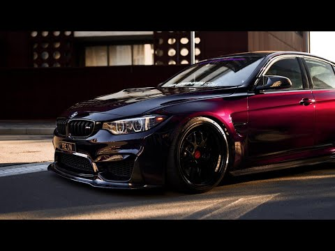 Purple Rein; BMW M3 | 4K