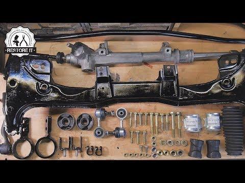 BMW E30 Front Subframe & Steering Rack Restoration | BMW E30 325i Sport Restoration S1 E2