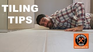 Tiling Tips and Techniques for Bathroom Remodeling (Quick Tips) -- by Home Repair Tutor