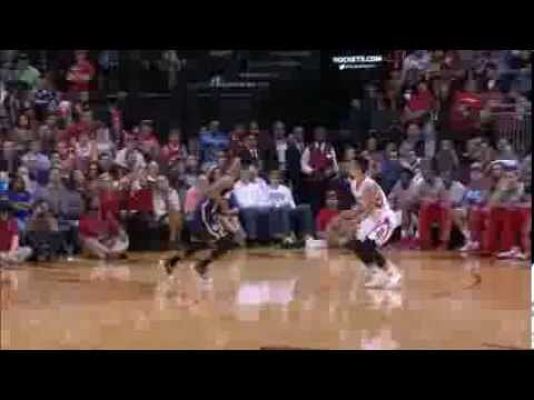 Jeremy Lin's stepback jumper on George Hill