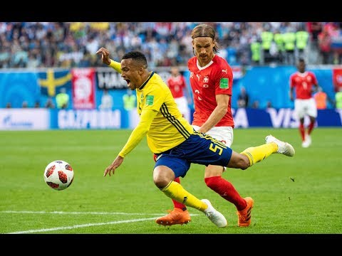 Fußball-WM 2018 Achtelfinale: Schweden schlägt die Schweiz glücklich mit 1:0