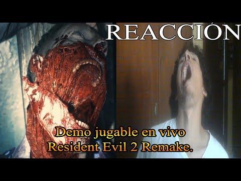 Reaccion - Resident Evil 2 Remake - Demo jugable en vivo (E3 2018)