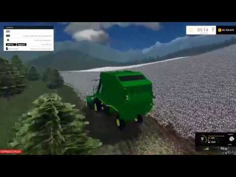 John Deere 7760 Cotton Picker v1.0
