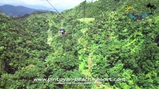 Pintuyan Philippines  City new picture : Zipline - Agas-Agas Bridge - Southern Leyte - Philippines Okt. 2012