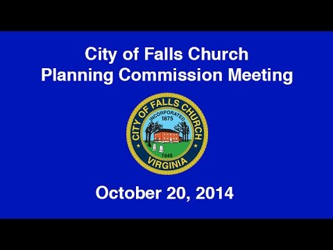 Planning Commission Meeting October 20, 2014