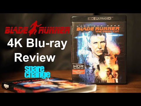 Blade Runner 4K Bluray Review And Unboxing. The Final Cut